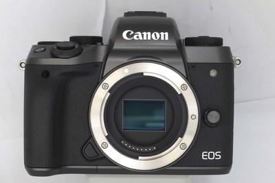 【微单数码相机】佳能 EOS M5(NO:0293)(赠送EF-EOSM接环)