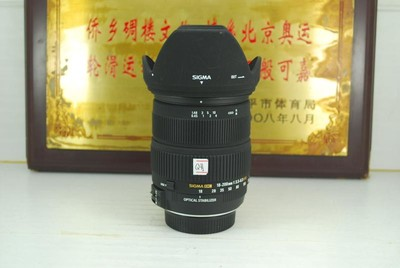 尼康口 适马 18-200 F/1:3.5-6.3 OS HSM 镜头 一镜走天下 可置换