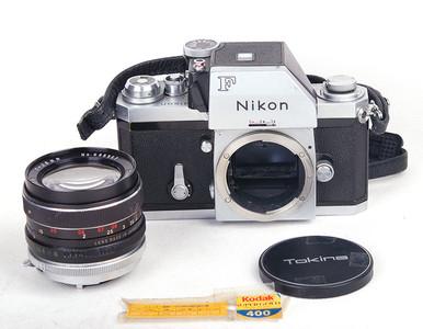特价尼康 大F+ 28/2.8+FTn 测光取景器银色套机 #HK7105