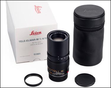徕卡 Leica M 135/4 ELMAR-M E46 现行版 带包装 UV
