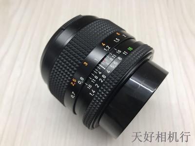 《天津天好》相机行 99新 康泰时 50/1.4 手动镜头原口