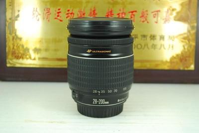 95新 佳能 28-200 F3.5-5.6 USM 单反镜头 一镜走天下 可置换