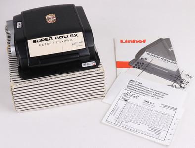 Linhof/林可夫 Super Rollex 6x7 / 2¼x2¾ in120胶片后背#jp18619