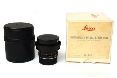 徕卡 Leica M 50/1.4 PRE-ASPH E43 II代 后期方字版 带包装