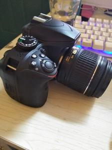 Nikon/尼康D3400套机 入门级单反相机18-55 VR 数码相机
