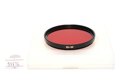 B+W 55mm 091 8x F-Pro 红色滤镜   *超美品*
