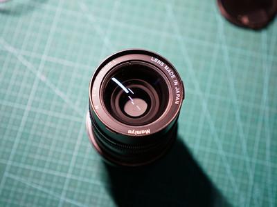 Mamiya 7 II   65mm镜头