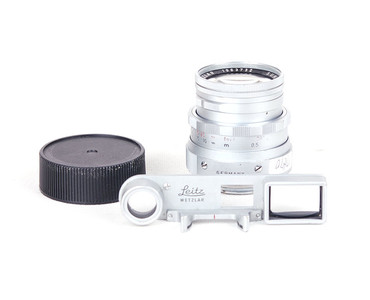 徕卡 Leitz Summicron 50/2 银色眼镜版 M口 #HK7244