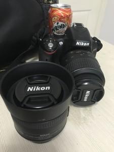 尼康 D5100 18-55挂机 35 1.8定 55-300长焦