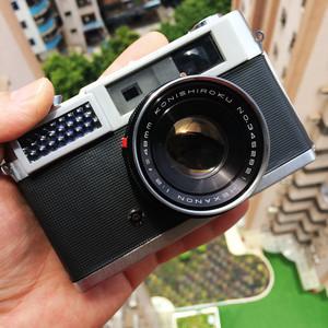 Konica/柯尼卡 S 银色48mm f2 定焦金属135胶卷胶片旁轴相机 送UV