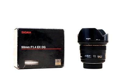 适马 50mm f/1.4 EX DG HSM(尼康卡口)