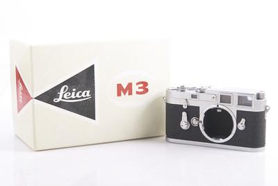 徕卡/Leica M3 Double Stroke Silver Camera 银色M3双拨#HK7396