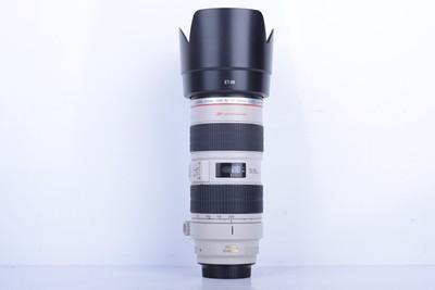 90新二手Canon佳能 70-200/2.8 L IS USM小白IS(B1840)【武】