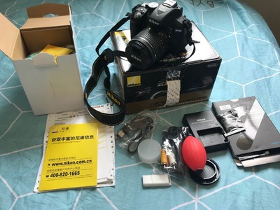 尼康 D5300 +18-55 VR头 购置半月出售