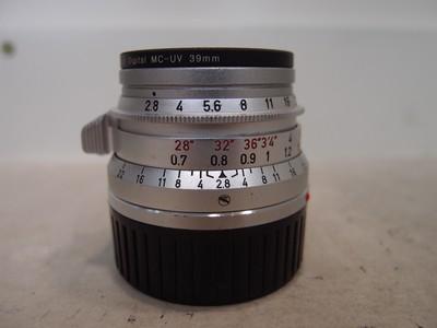 95新 德产 Leica 35mm F2.8 小八妹 小八枚镜头!