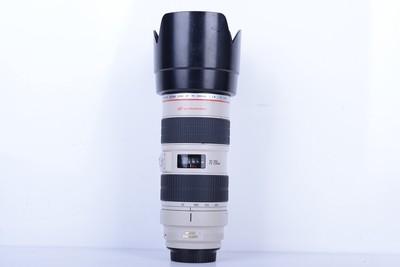 92新二手Canon佳能 70-200/2.8 L IS USM小白IS(B2509)【京】