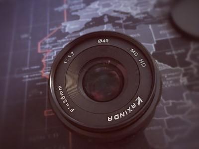 咔鑫达 35mm f1.7  微单镜头全新四代大光圈定焦E卡口