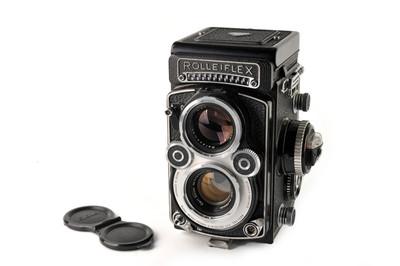 禄来/Rolleiflex 3.5F白脸双反 带Planar 75/3.5镜头 #33037