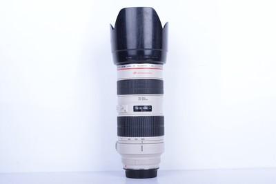 92新二手Canon佳能 70-200/2.8 L 小白变焦镜头(B2605)【津】