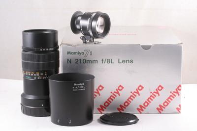 95/玛米亚 N 210/8L 带原装取景器 , 7或7II 型相机用 全套包装