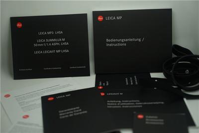徕卡 MP leica MP3 套机 50mm F1.4 E43 asph 徕卡 50 1.4