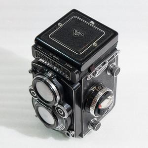 禄来Rolleiflex 3.5F Planar 后期黑脸六片镜