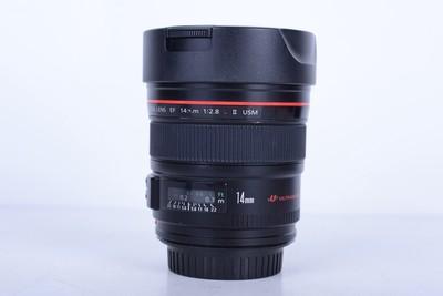 94新二手 Canon佳能 14/2.8 L II USM二代广角(B2503)【京】