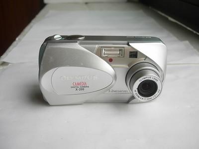 奥林巴斯 C300 数码相机,成色新,收藏使用