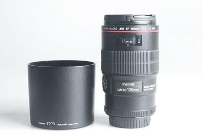 98新 佳能 EF 100mm f/2.8L IS USM微距