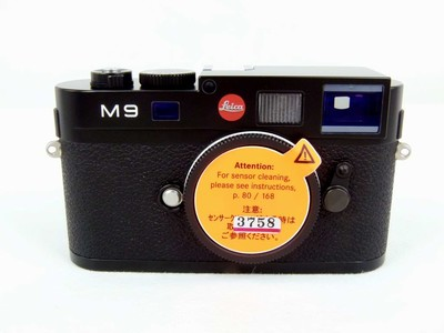 快门1500的徕卡 M9黑色