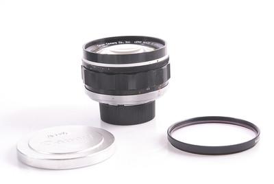 【良品】佳能 Lens 50/0.95 已改M口 带有滤镜 #HK7392