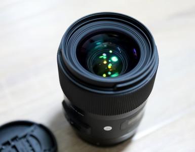 个人闲置98新适马 35mm f/1.4 DG HSM(A)佳能口