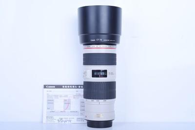 96新二手Canon佳能 70-200/4 L IS USM小小白IS(B3078)【京】