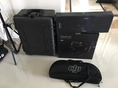 如影 ronin mx 带手持环、拇指控制器、安全箱 仅开封未使用