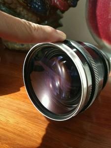 福伦达dkl口变焦单反镜头 36-82 f2.8 zoomar 小怪兽