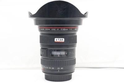 95新二手 Canon佳能 17-40/4 L USM 广角镜头(1735)【亚】