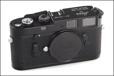 徕卡 Leica M4 Black Paint 黑漆 极好成色