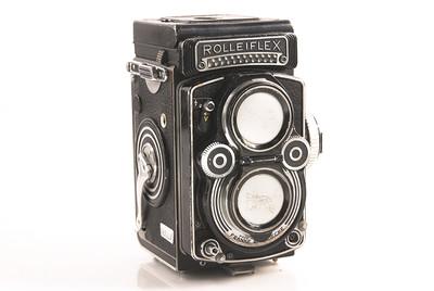 【良品】禄来/Rolleiflex 3.5F Planar 75/3.5 双反相机 #HK7362X