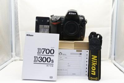 11新二手Nikon尼康 D700 单机 快门37000多次(1633)【深】