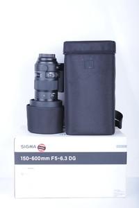 95新二手Sigma适马 150-600/5-6.3 OS S版佳能口(B0741)【京】