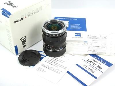 Cral Zesis 卡尔·蔡司 Biogon T* 21mm f/2.8 ZM 全新样品
