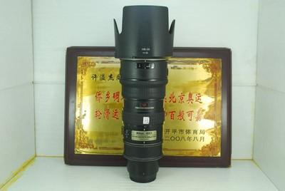 尼康 70-200 F2.8G VR 小竹炮 单反镜头 专业恒圈长焦 可置换
