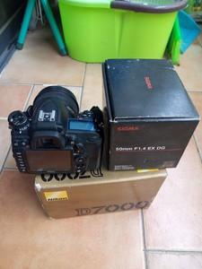 尼康 D7000机身+适马50 1.4镜头
