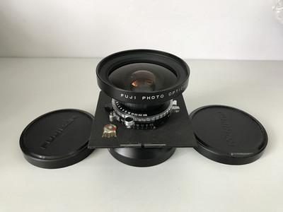 富士大画幅镜头 90/5.6 多膜 带维斯塔的板 天津福润相机