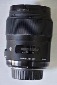 适马 35mm f/1.4 DG HSM(A)送B+W NANO UV