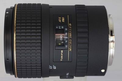 图丽 AF 100/2.8 (AT-X M100 AF PRO)佳能卡口(NO:9532)