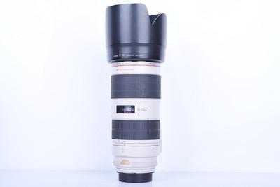 88新二手Canon佳能 70-200/2.8 L IS II USM小白兔(B2958)【京】