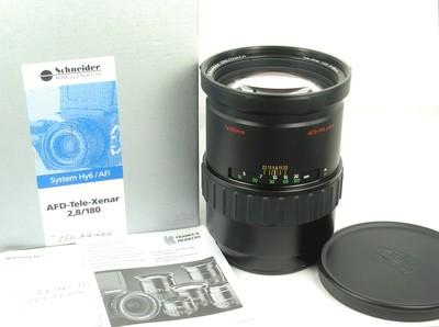 Rollei 禄来 AFD Tele-Xenar 180/2.8 Hy6系列用 新同品 带包装