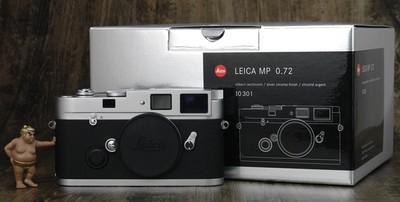 徕卡 MP 0.72 胶片机 几乎全新 箱说全 最新编号