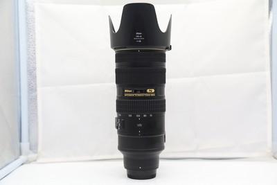 96新二手Nikon尼康 70-200/2.8 G VR II 大竹炮(1985)【深】